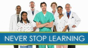 Image of: healthcare providers who believe in continuing education.